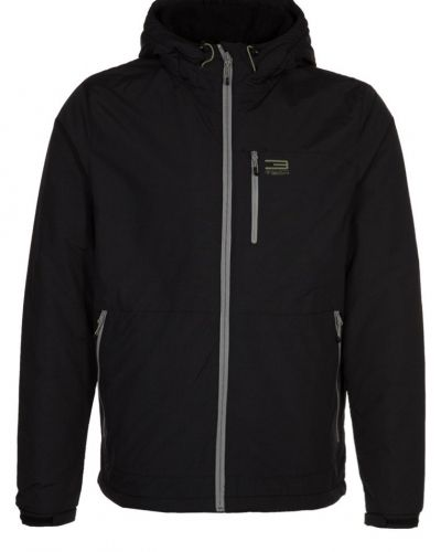 Jack & Jones Tech WALK Outdoorjacka Svart - Jack & Jones Tech - Regnjackor