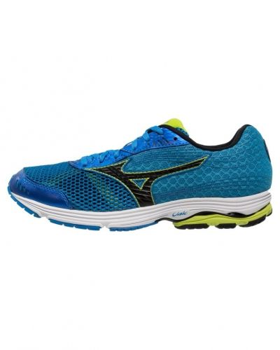 ... electric blue/lemonade/black/blue danube Mizuno löparsko till mamma