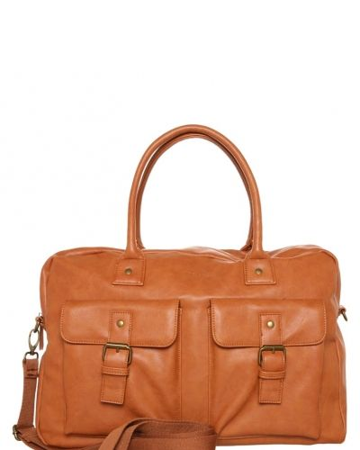 Weekendbag cognac Pier One weekendbags till unisex.