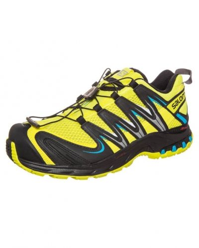 Löparsko Salomon XA PRO 3D Löparskor terräng canary yellow/black/boss blue från Salomon