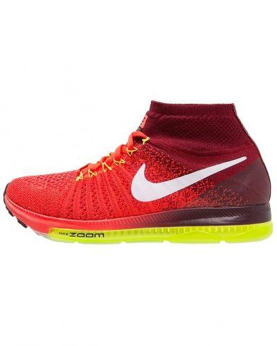 Zoom all out flyknit löparskor dämpning bright crimson/white/team red/volt Nike Performance löparsko till mamma.