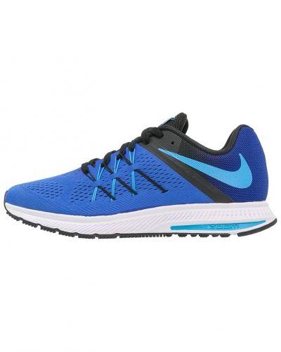 Zoom winflo 3 löparskor dämpning racer blue/blue glow/blackwhite Nike Performance löparsko till mamma.
