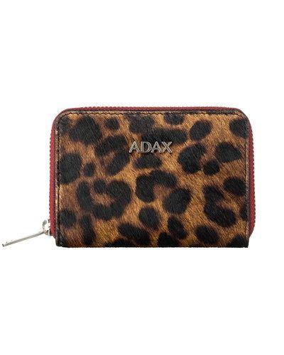 Till dam från Adax, en flerfärgad plånbok.
