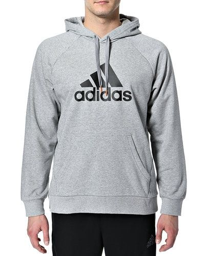 adidas hoodie grå