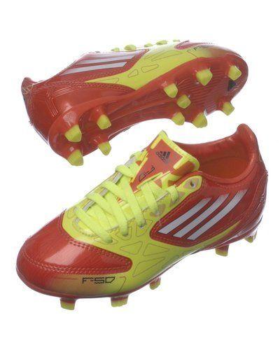 Fotbollsskor från Adidas, Orange Adidas F50 Adizero TRX FG