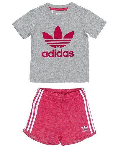 Grå sweatshirts från Adidas Originals till barn.