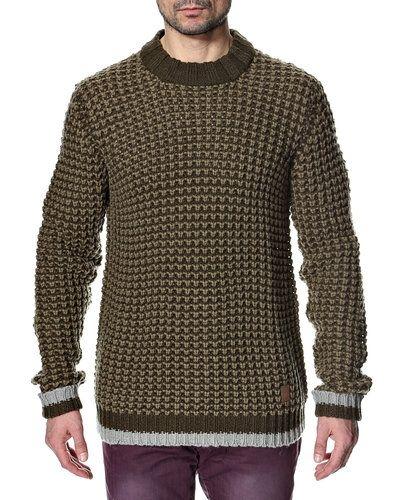 Anerkjendt Anerkjendt 'Texas' stickad tröja. Huvudbonader håller hög kvalitet.