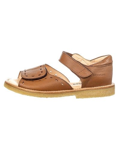 Brun sandal från ANGULUS till dam.