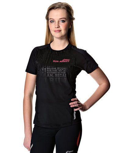 Asics SS Graphic löpar t-shirt, dam från ASICS, Kortärmade träningströjor