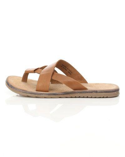 herr sandaler skinn