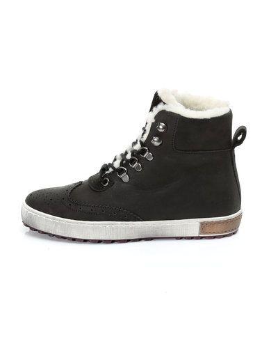 Bianco skinn sneakers Bianco stövlel till dam.