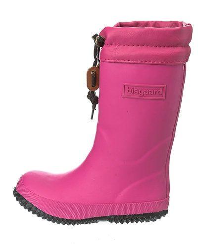 Till dam från Bisgaard, en rosa gummistövlel.