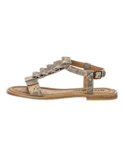 Beige sandal från Bisgaard till dam.
