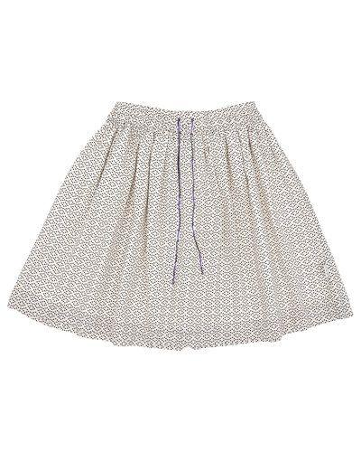 Till flicka från BombiBitt, en creamfärgad kjol.