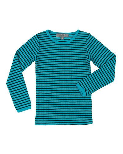 Till barn från BombiBitt, en blå tröja.