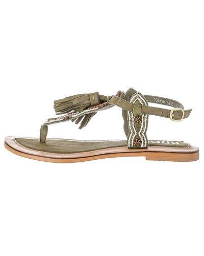 722a73f63c6 Till dam från Bronx, en grön sandal.