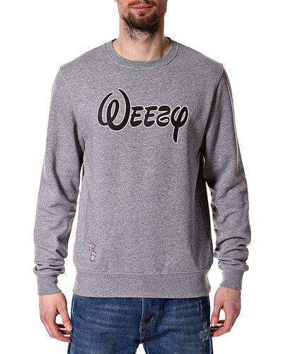 Grå sweatshirts från Mitchell & Ness till killar.