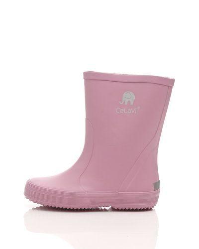 Till barn från CeLaVi, en rosa gummistövlel.