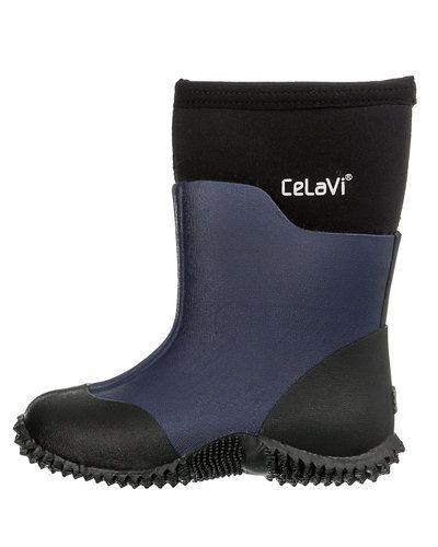 Till barn från CeLaVi, en blå gummistövlel.