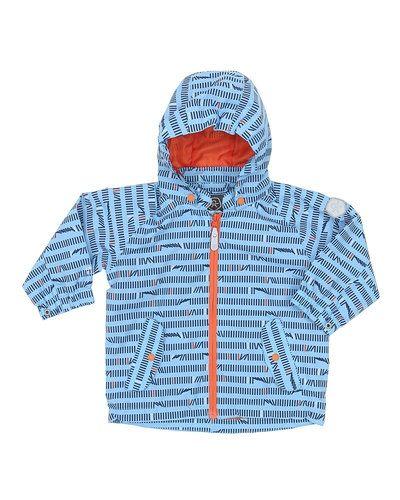 Till kille från Color kids, en blå jacka.