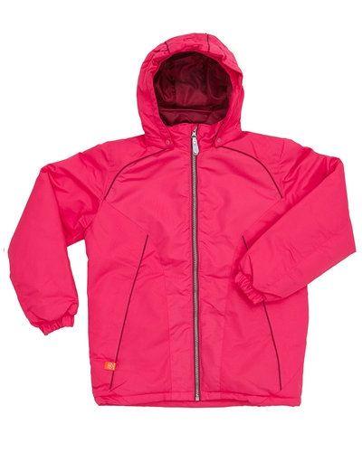 Till tjej från Color kids, en rosa höst- och vinterjacka.