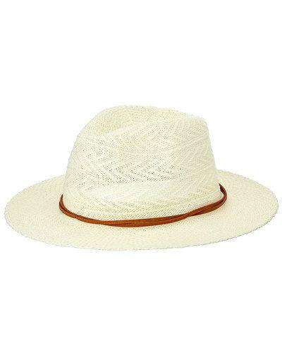 Vit hatt från Cream till dam.