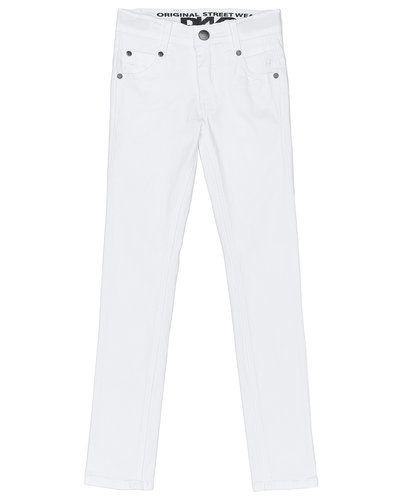 Vit jeans från D-xel till tjej.