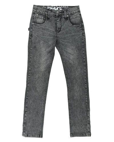 Grå blandade jeans från D-xel till dam.