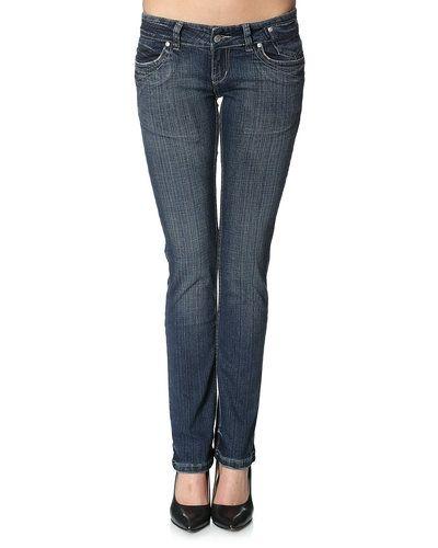 Till dam från DBC, en blå blandade jeans.
