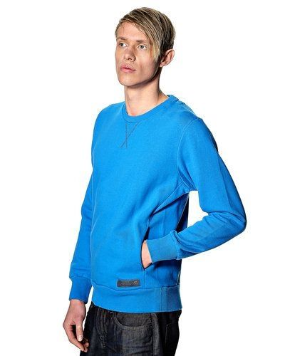 Till killar från Diesel, en blå sweatshirts.