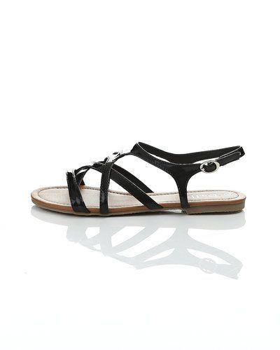 svarta sandaler dam
