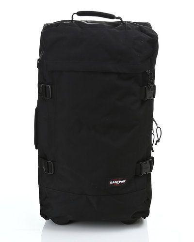 Till unisex från Eastpak, en svart trolley-väska.