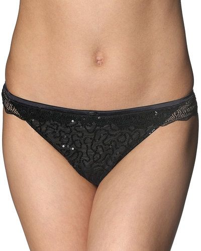 Till dam från Esprit Bodywear, en svart stringtrosa.