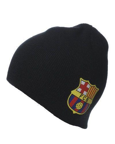 FCB stickad mössa med logo från FC Barcelona, Supportersaker