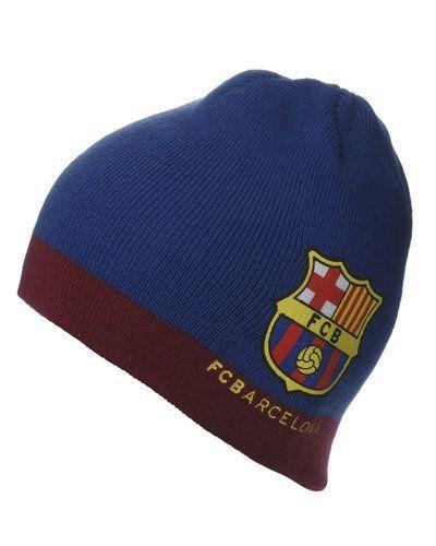 FCB stickad mössa med logo - FC Barcelona - Supportersaker