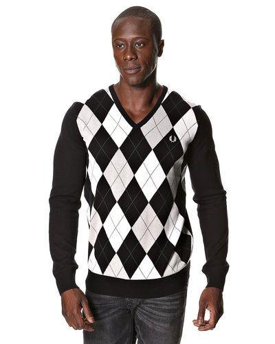 Fred Perry 'Argyle' stickad tröja från Fred Perry, Mössor