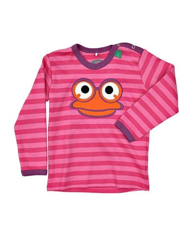 Till barn från Fred´s World By Green Cotton, en rosa blus.