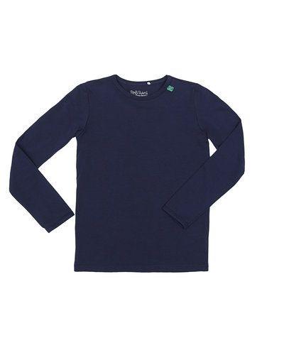 Till barn från Fred´s World By Green Cotton, en blå tröja.