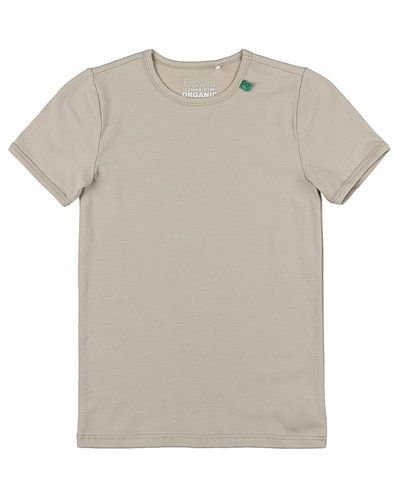 Beige t-shirts från Fred´s World By Green Cotton till barn Unisex/Ospec..