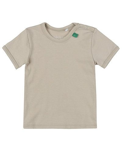 Till barn från Fred´s World By Green Cotton, en beige t-shirts.