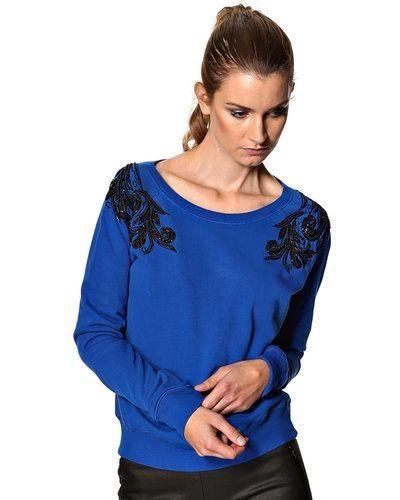 Till dam från French Connection, en blå sweatshirts.