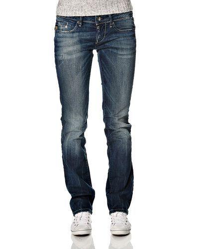 Blå blandade jeans från G-Star till dam.