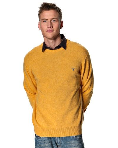 Gant 'Lambswool' stickad tröja - Gant - Mössor