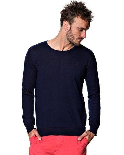 gant tröja herr blå