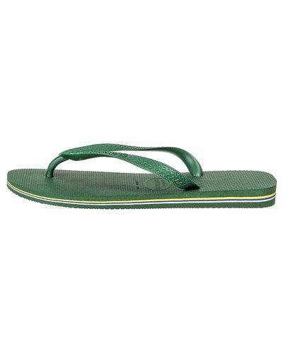 Grön sandal från Havaianas till dam.