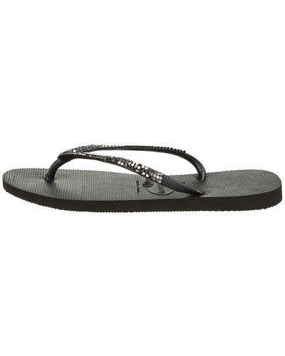 Till dam från Havaianas, en svart sandal.