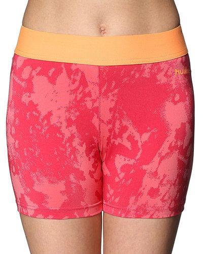 Till dam från Hummel Sport, en rosa träningstights.