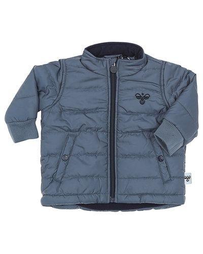 Grå höst- och vinterjacka från Hummel Fashion till barn.
