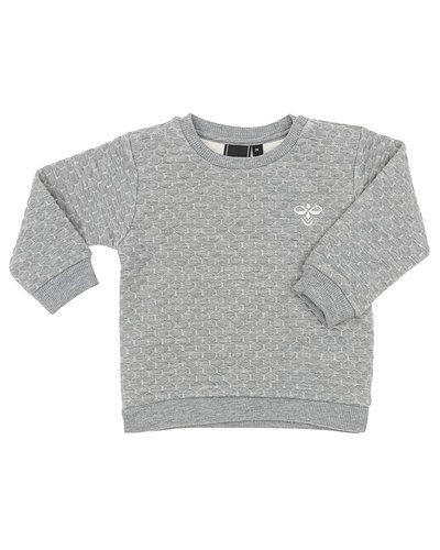 Till barn från Hummel Fashion, en grå sweatshirts.