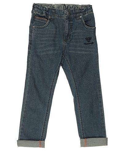 Till herr från Hummel Fashion, en blå blandade jeans.